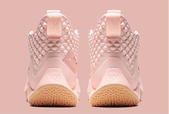 Tenis Nike Jordan Why Not Zero 2 Rosa #6 Al 10 Mx Originales