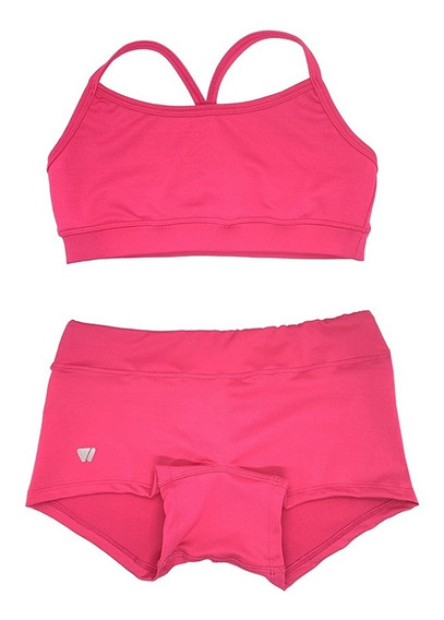 Combo Crossfit Girl: Short Y Top Games By Wod Sports Verano