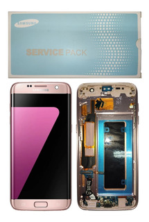 Tela Touch Frontal Display Lcd Galaxy S7 Edge Sm-g935 C/ Aro