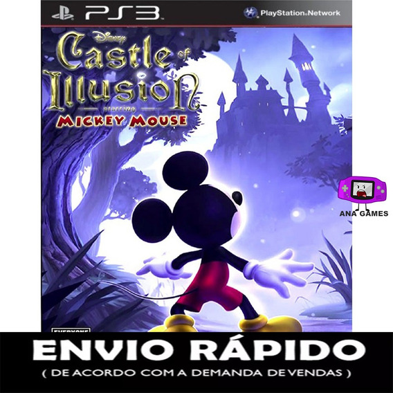 Castle Of Illusion Starring Mickey Mouse Ps3 - Jogo Digital