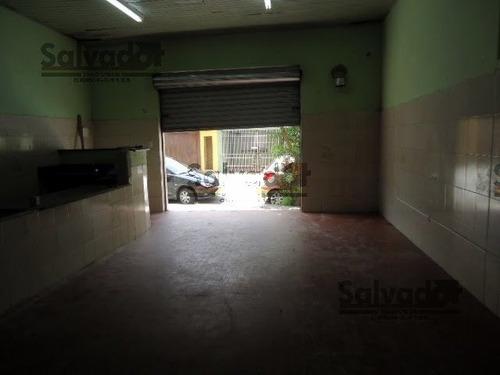 Loja/salão Na Vila Moinho Velho  -  São Paulo - 6710