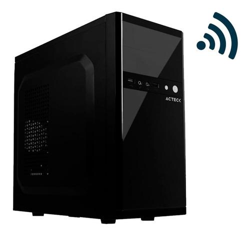 Imagen 1 de 2 de Pc Basica Barata Amd A4 4 Core 2.4ghz 4gb Ram Ssd 240gb Wifi