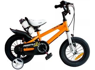 Bicicleta Royal Baby Freestyle Rodado 14 De Aluminio De Niño