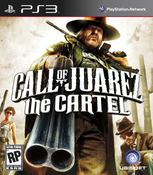 Jogo Call Of Juarez The Cartel Playstation 3 Ps3 Mídia Físic