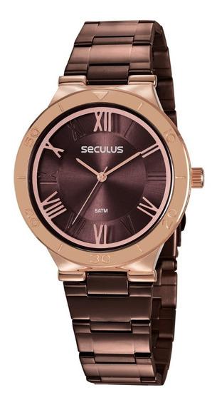 Relógio Feminino Seculus 77024lpvxs2