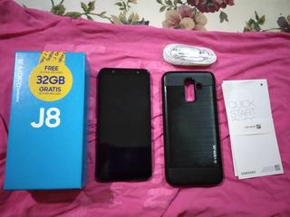 Samsung J8 32gb Negro 155v