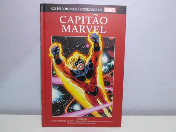Os Heróis Mais P. Marvel Capitãomarvel Salvat 14 (f. Grátis)