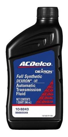 Aceite Dexron 6  ( Vi ) , Para Cajas Automáticas Acdelco