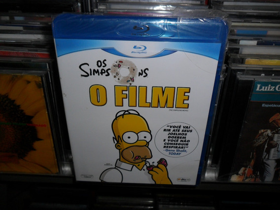 Blu Ray Disc Dvd Os Simpsons O Filme