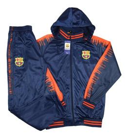 280d914cc6bed Agasalho De Time Barcelona Masculino Conjunto Blusa 2019. R$ 185