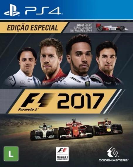 F-1 2017 - Ps4 - Nacional + Dlc