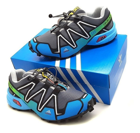 Tênis Speedcross 3 4 Trava Caminhada Corrida Frete Grátis