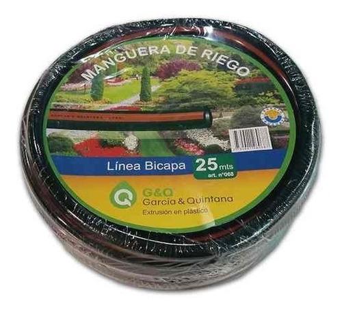 Manguera De Riego Bicapa 1/2'' 25mts G P
