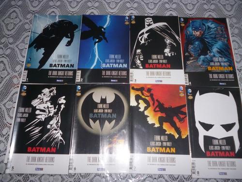 Batman El Regreso Del Caballero Oscuro Saga Completa(8comic)