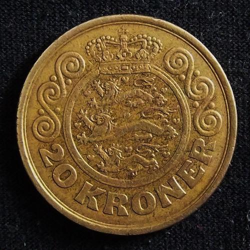 Dinamarca 20 Coronas 1990 Muy Bueno Km 871