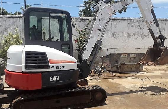 Mini Escavadeira Bobcat E42 2011