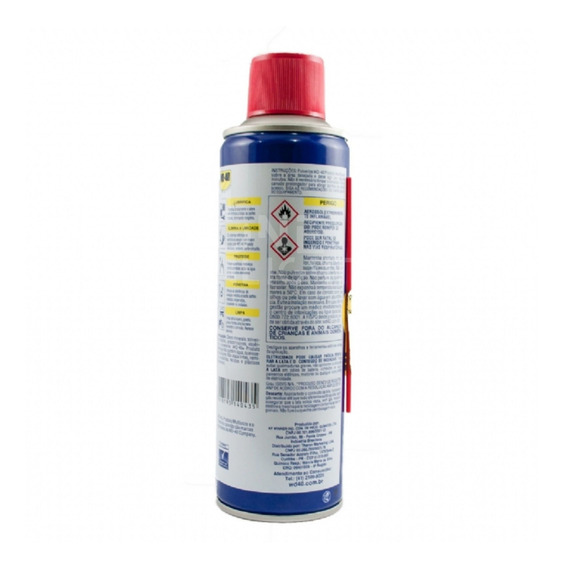 Kit Com 6 Multiuso Wd-40 300 Ml