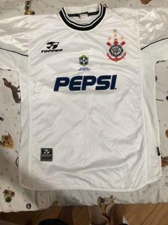Camisa Corinthians Usada Em Jogo Pelo Edilson