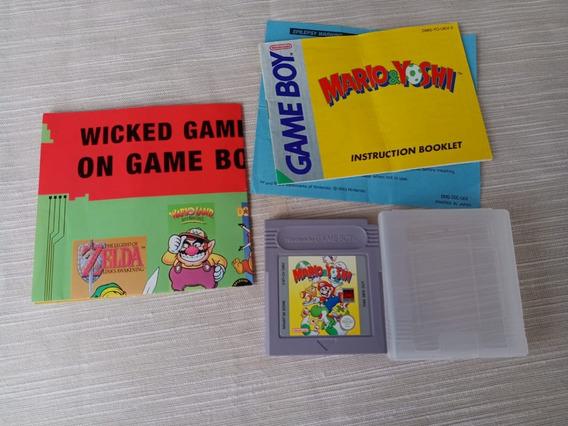 Game Mario & Yoshi Gba Gbc Gb Gameboy Color Original
