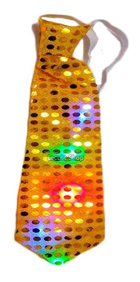 Corbata Luminosa Led Fiesta Disfraz Rave Antro Luz Neon
