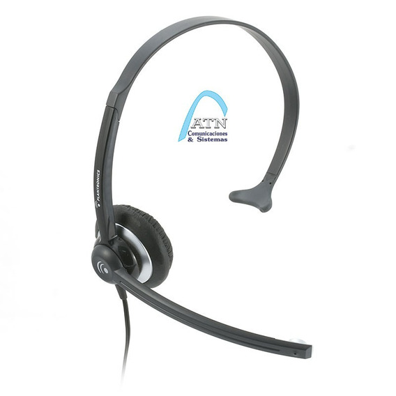 Plantronics M214c Headset Vincha Cabezal Auricular