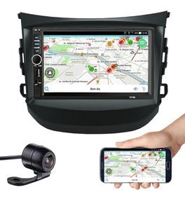 Central Mp5 Hyundai Hb20 Espelhamento Bluetooth Câmera Ré