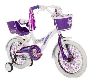 Bicicleta Raleigh Lilhon R16 Violeta - Thuway