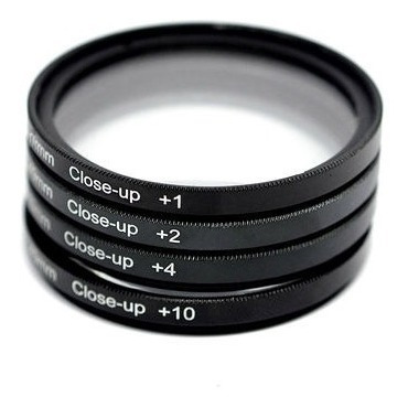 Lente Macro Filtro Closeup +1,+2,+4 E +10