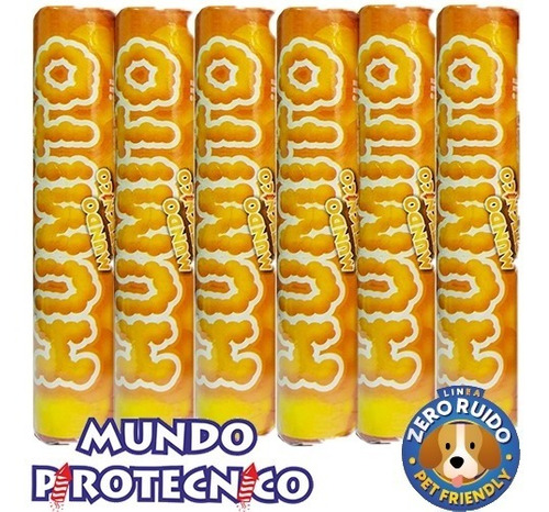 Imagen 1 de 1 de Humito De Colores Pack X 6
