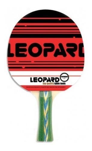 Imagen 1 de 2 de Paleta De Ping Pong Leopard 5 Estrellas