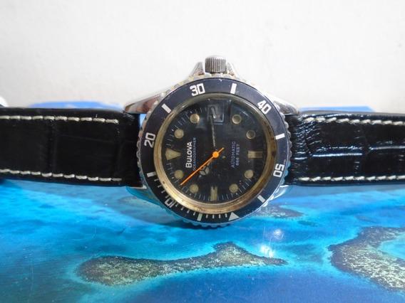 Bulova Oceanographer Automatic Diver Black Dial 666 Feet