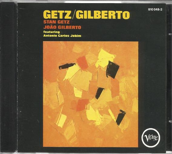 Cd Stan Getz João Gilberto 1964 (ed. 1989 Verve)