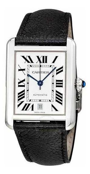 Cartier Tank Solo Automático! Único Com Garantia De 8 Anos!