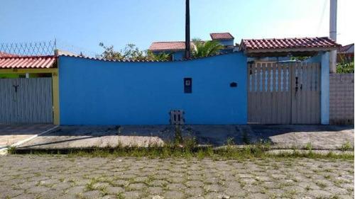 Excelente Casa Lado Praia No Gaivota - Itanhaém 4439   Npc