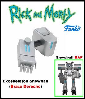Rick And Morty: Snowball. Baf. Funko. 2017.