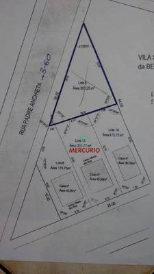 Terreno À Venda, 201 M² Por R$ 95.000 - Vila São João Da Boa Vista - Bauru/sp - Te1224