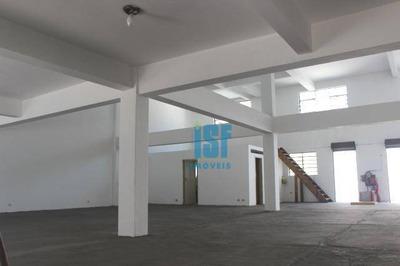 Galpão À Venda, 911 M² Por R$ 2.900.000 - Mooca - São Paulo/sp - Ga0354