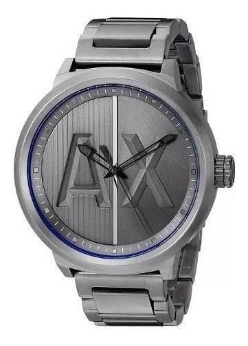 Relógio Gx1923 Armani Exchange Ax1362 Chumbo Premium / Caixa