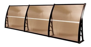 Mcombo 40 ×120 Window Awning Outdoor Polycarbonate Front D