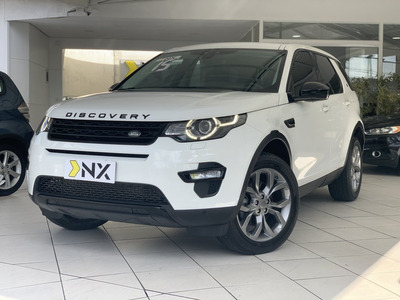 Discovery Sport 2.0 16v Si4 Turbo Gasolina Hse 7 Lugares 4p