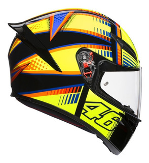 Casco Integral Agv K1 Top Soleluna Moto