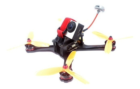 Frame Drone Racer Fpv X-214 Mm Arms 4 Mm+pdb+cinta Bateria