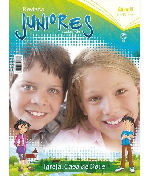 Revista Escola Dominical Juniores Aluno - Editora Cpad