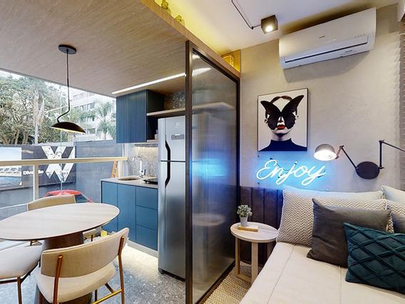 Apartamento Studios A Venda Na Região De Perdizes Com 27,0m²
