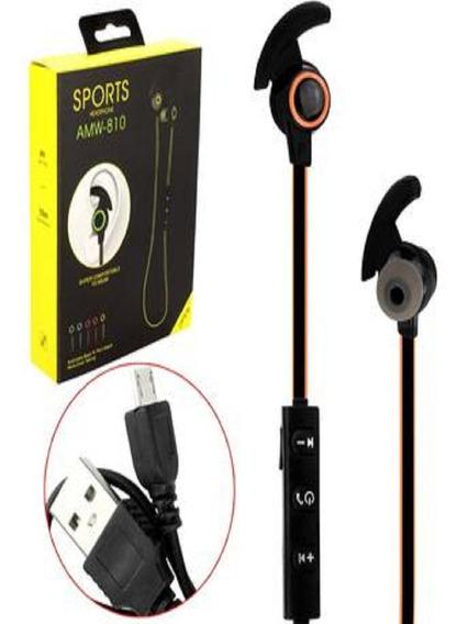 Fone De Ouvido Bluetooth 4.1 Stereo Amw-810