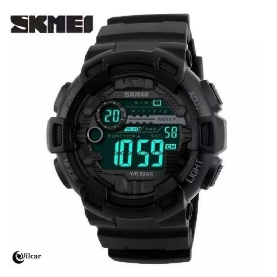 Relógio Masculino Skmei 1243 Preto (original) - Promoção.!!!