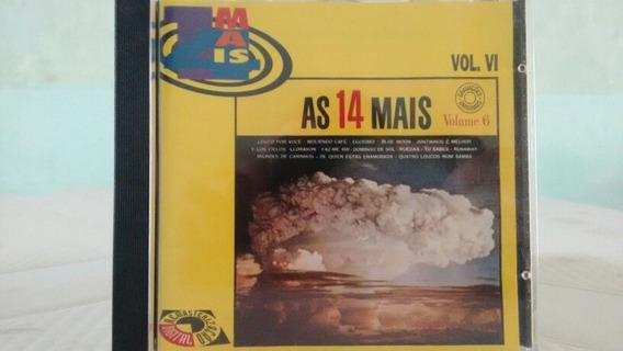Cd As 14 Mais Vol 6.roberto Carlos Louco Por Você