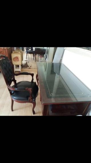Mesa E Cadeira De Escritório Luis Xv