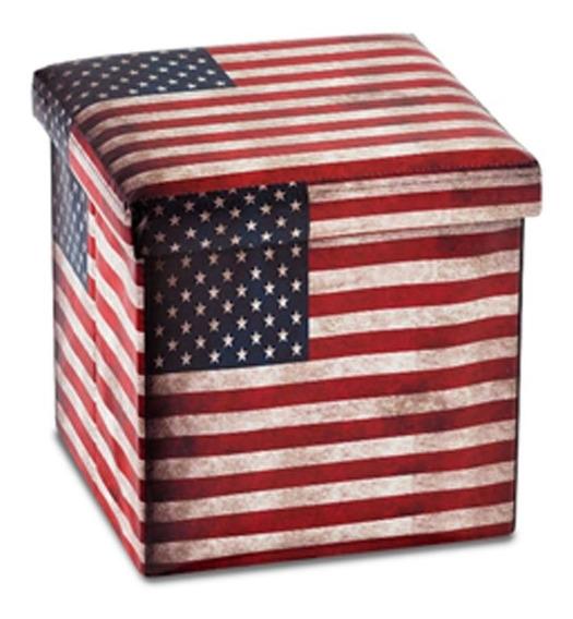 Banco Desmontável Bandeira Estados Unidos