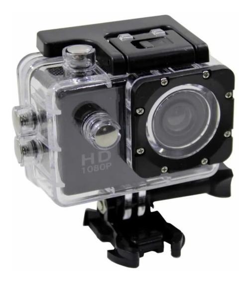 Mini Câmera Filmadora Esportiva A Prova D